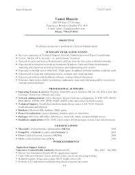 Linux System Administrator Resume Sample India Backup Admini