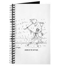 singing in the acid rain journal by mchumortoons