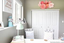 pink teal home office tour. home office remodel reveal mint coral and gold so chic pink teal tour