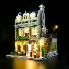 Parisian Restaurant Lighting Kit Led Light Kit For Lego 10243 Parisian Restaurant Building Blocks Model Ebay