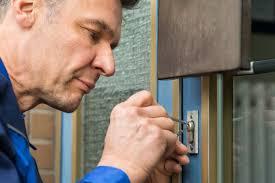 locksmith burleson tx. Plain Locksmith Mature Male Lockpicker Fixing Door Handle At Home In Locksmith Burleson Tx E
