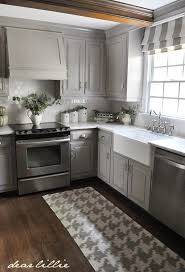 darker gray cabinets and our marble review