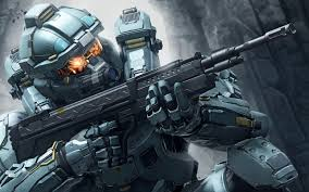 wallpaper fred in halo 5 guardians