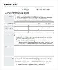 Fax Cover Sheet Templates - Sarahepps.com -