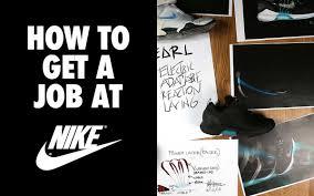 Shine Job Posting How To Land A Job At Nike Desk Of Van Schneider Medium
