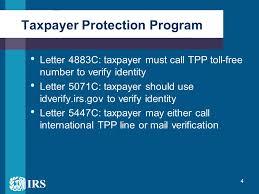Taxpayer Protection Program