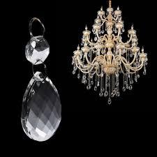 Us 445 10 Off10 Teilelos Glas Kristall Prismen Kronleuchter Anhänger Licht Lampe Teil Tropfen Diy Zubehör Kristall Hängen Anhänger Teile In
