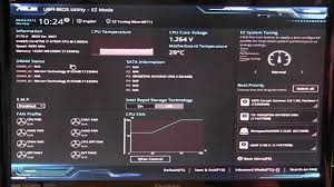 ASUS Z170-A Motherboard BIOS Overview - YouTube
