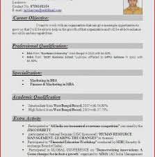 Sql Fresher Resume Sample Nice 41 Best Resume Format For Freshers