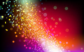Free Shutterstock Images Free Vector Illustration Colorful Particles The