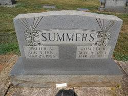 Walter Alvin Summers (1881-1956) - Find A Grave Memorial