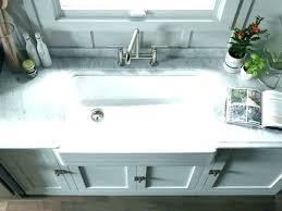 33 inch white farmhouse sink cast iron farm photo 1 of sinks steel single bowl sing