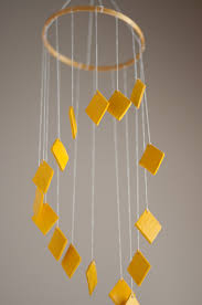 easy diy make a chandelier mobile in any color you choose design mom