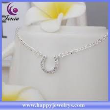 <b>Newest</b> Arrival Fashionable Design <b>925 Silver Anklet</b> Gold <b>Anklets</b> ...