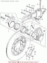 honda cb750k0 four (england) front brake caliper disk schematic CB750 Chopper Wiring Diagram honda cb750k0 four (england) front brake caliper disk schematic