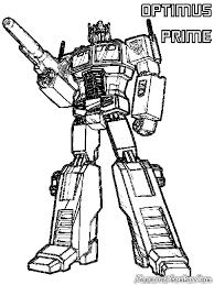 Coloring Pages Of Optimus Prime Optimus Prime Transformer