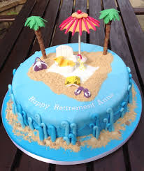 Birthday Party Ideas Edmond Ok Unique Beach Themed Retirement Cake
