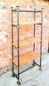 free standing shelves industrial style free standing scaffold shelving unit free standing glass shelves uk