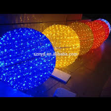 diy outdoor led light ball lighted lights ornamental hanging how to make