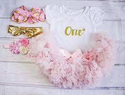 Baby Girl Birthday Clothingcake Smash Outfitgirl Skirt And Top