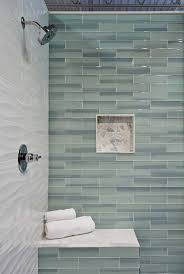bathroom idea aqua glass tile contemporary bathroom window bathroom shower wall tile new