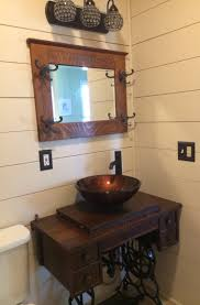 treadle sewing machine cabinet made into a sink base