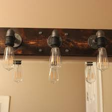 industrial bathroom light fixtures furniture diy