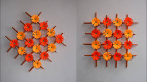 wall hanging handmade paper flower decoration diy crafts