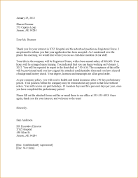 Ideas of Thank You Letter Job fer Negotiation With Additional Template