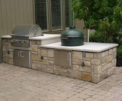 outdoor kitchen island d