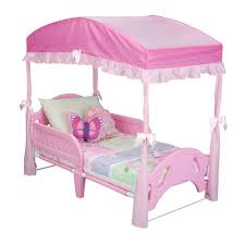 Minnie Mouse Canopy Toddler Bed for Fancy Delta Children Girls ...
