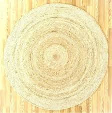 foot round rug ft intended for design 6 within remodel 7 area rugs jute 5 fashionable