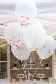 confetti sprinkle balloons