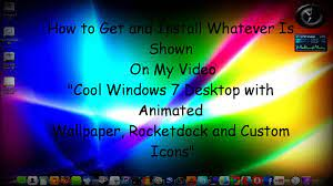 8 Desktop with Animated Wallpaper ...
