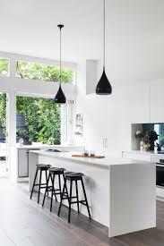Best  Black White Kitchens Ideas On Pinterest - White contemporary kitchen