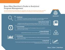 Booz Allen Hamilton Org Chart Guide To Analytical Program Management Infographic