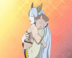Kaguya and Hagoromo by Ahzusa | Anime, Indra and ashura, Hagoromo otsutsuki