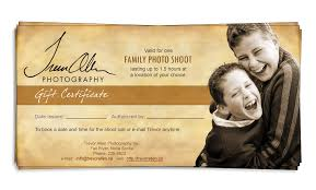 Photography Gift Certificate Template Trevor Allen Photography Photo Detail Gift Certificates Make