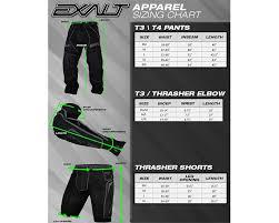Bunker Kings V2 Supreme Pants Size Chart Exalt T3 Elbow Pads Black Red