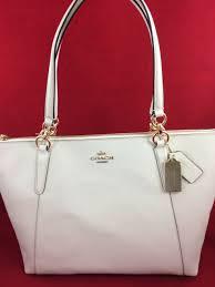 coach ava crossgrain leather shoulder bag tote blush f57526