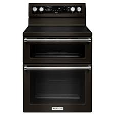 kitchenaid 30 in smooth surface 5 element 4 2 cu ft 2 5