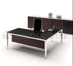 modern metal table leg types 1 6m glass office table sz od492