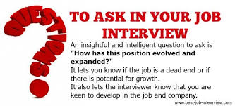 good questions to ask during a job interview good interview questions to ask in your job interview