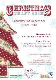 Christmas Craft Bag A Gift At Blackpool Sixths Christmas Craft Fair The