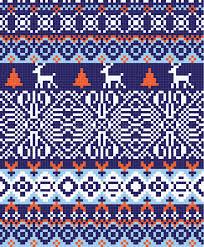 Nordic Pattern Fascinating Nordic Pattern Background Stock Vector Illustration Of Season