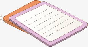 cartoon exercise book vector cartoon line png and vector
