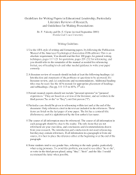 literature review example apa ideas collection review of literature in thesis magnificent