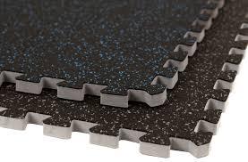 inch soft rubber foam rubber floor tiles interlocking rubber flooring tiles