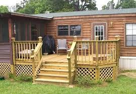 mobile home porches porch ideas