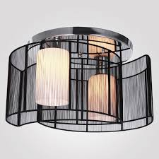 decor drum lampshade for semi flush mount lighting with home interior design also home light